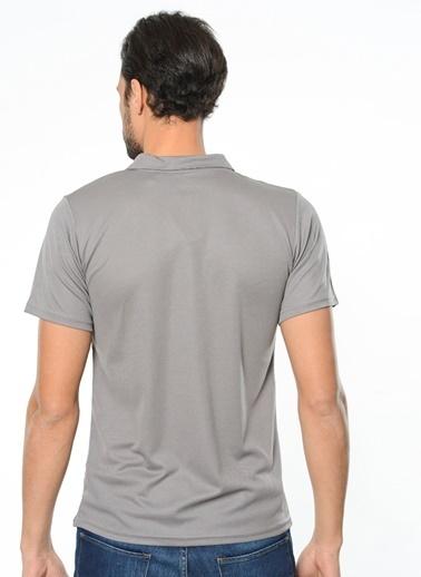Kappa Polo Slim Fit Unisex T-Shirt Gri